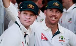 Steve Smith and David Warner.
