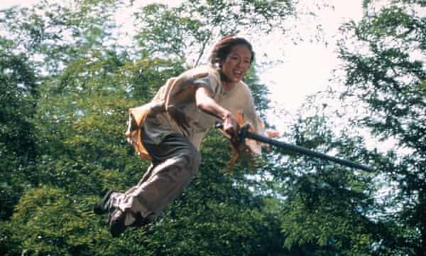 Zhang Ziyi in Crouching Tiger, Hidden Dragon, in 2000