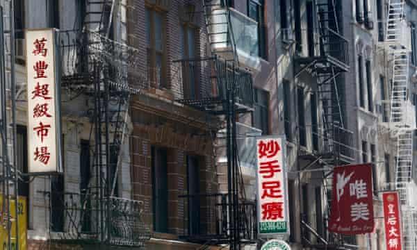 Chinatown apartments, New York.