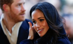 Prince Harry and Meghan Markle in Nottingham