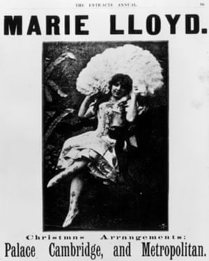 Music hall singer Marie Lloyd