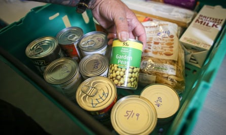 Foodbank tins