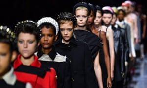 On me 'ed: the Prada spring/summer 2019 catwalk in Milan