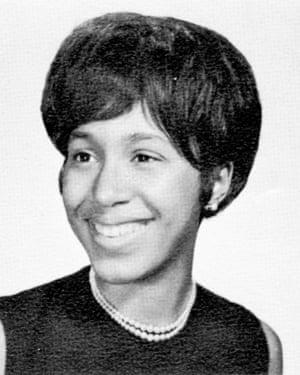 Margo's high school yearbook photo, 1964.