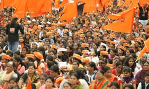 Some 700,000 to 800,000 Marathas, many of them women, took part in a silent protest in Baramati last month, dwarfing the town's resident population.