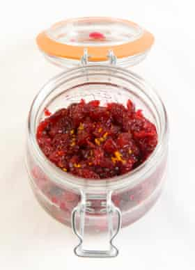 Felicity Cloake's perfect cranberry sauce.