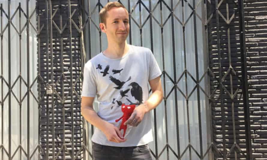 Martin Sahlin of Unravel developer Coldwood – known affectionately online as 'Yarn Man'