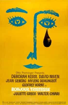 Bonjour Tristesse film poster print