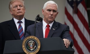 Mike Pence speaks after a meeting between lawmakers of both parties at the White House last week.
