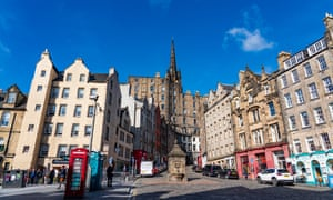 'I hated it, then grew to love it' ... The Grassmarket.