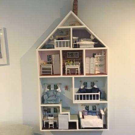 Michelle Gabriel's dolls' house