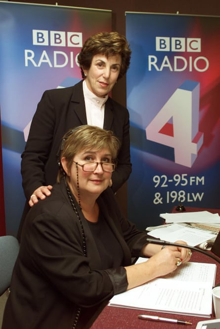 Jenni Murray with Edwina Currie