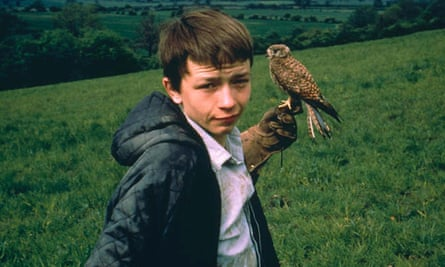 David Bradley in Barry Hines's Kes, the film adaptation of A Kestrel for a Knave.