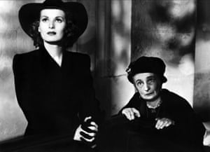 O'Hara & Una O'Connor in This Land Is Mine, 1943