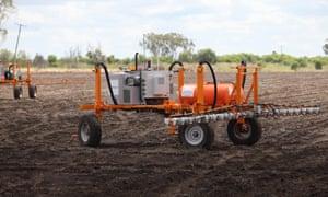 A farming robot from SwarmFarm