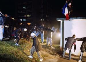 Mohamed Bourouissa's La République, 2006.