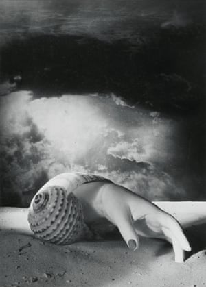 Dora Maar Untitled (Hand-Shell) 1934