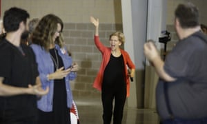 Elizabeth Warren in Elkhart, Indiana, on 5 June. 'You've really got to have a plan – and I do have a plan.'