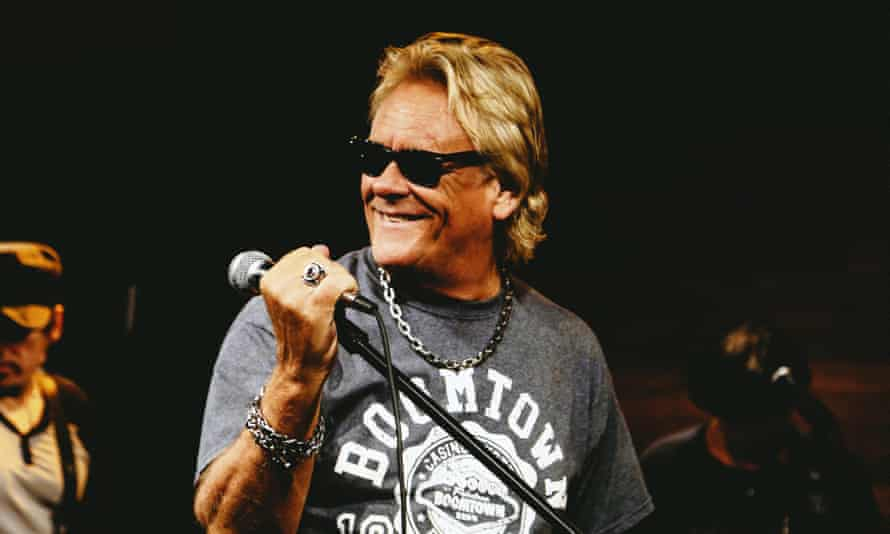 Brian Howe's powerful voice and commanding stage presence enabled him to stamp his authority on Bad Company after he joined the group in 1986.