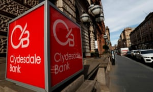 The Clydesdale Bank in Glasgow.