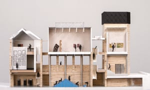 Assemble's plans for Goldsmiths Art Gallery.