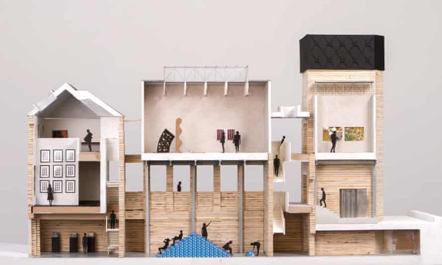 Assemble's plans for Goldsmiths Art Gallery.