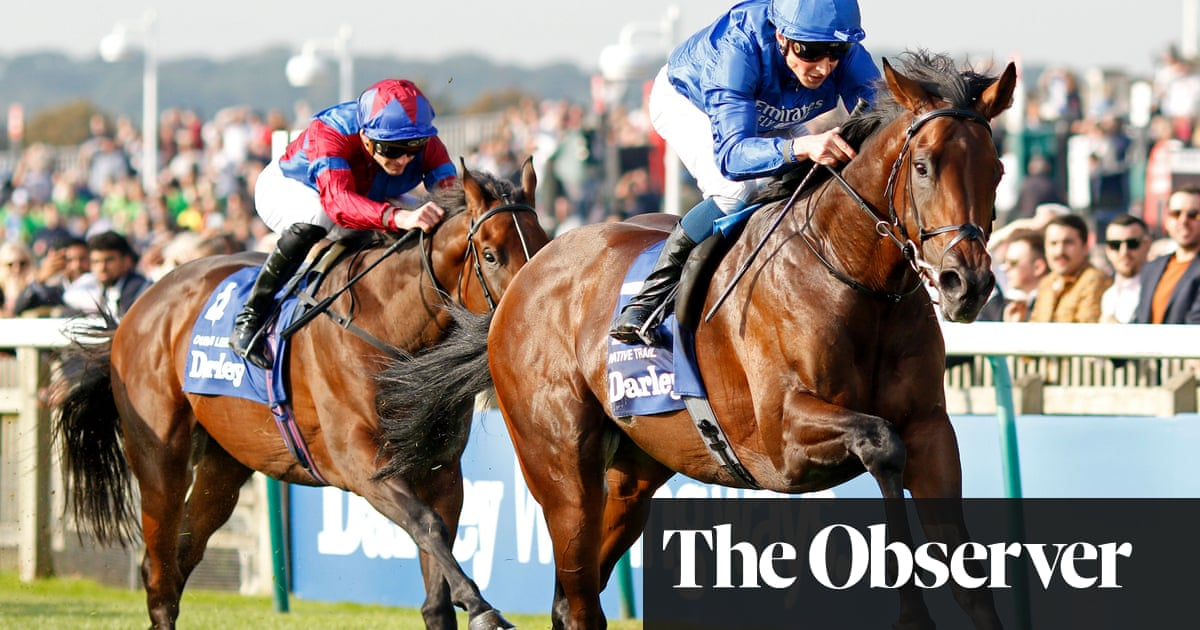 Native Trail surges to Dewhurst Stakes victory and four races unbeaten