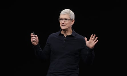Apple's Tim Cook has called the Trump administration's border policies 'inhumane' and urged it to stop.