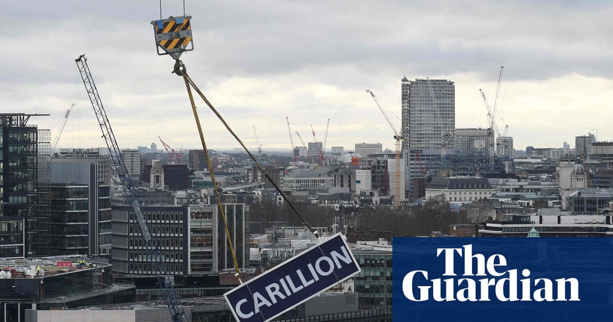 Carillion collapse exposed government outsourcing flaws ...