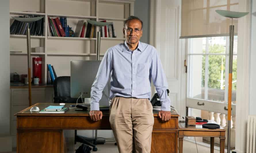 Venki Ramakrishnan is a Nobel prize winner and president of the Royal Society