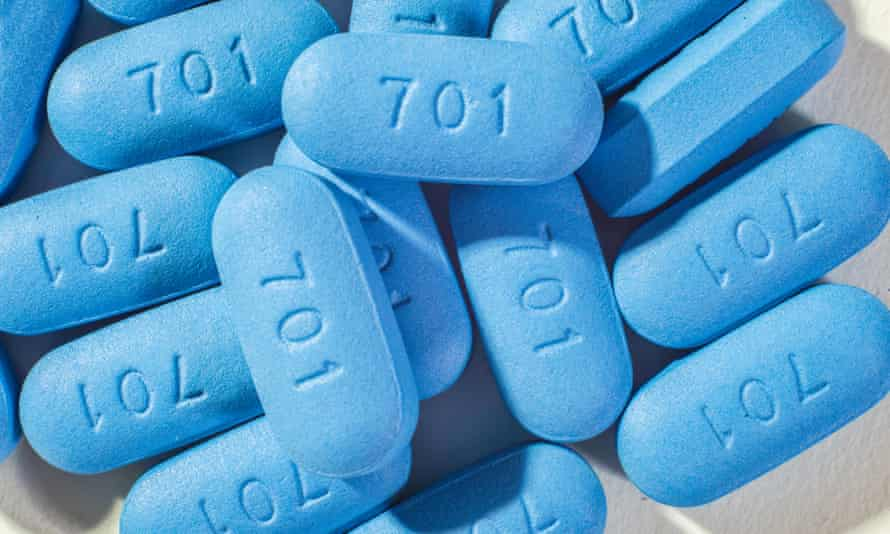 Pre-exposure prophylaxis (PrEP) protects against HIV.