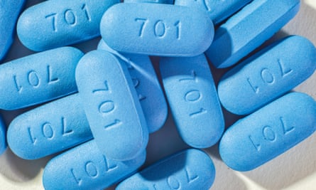 PrEP pills used to prevent HIV.