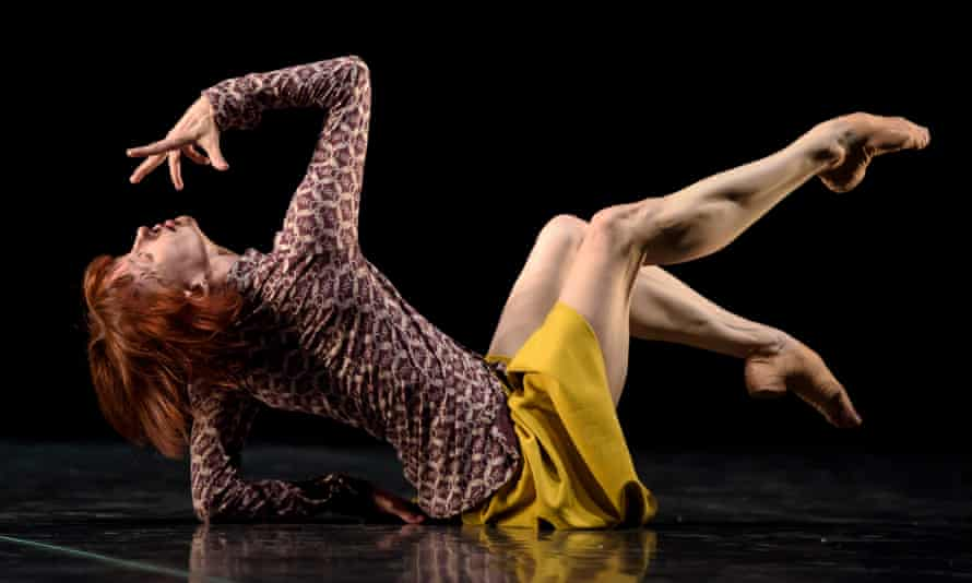 Sylvie Guillem dances Bye by Mats Ek in A Life in Progress.