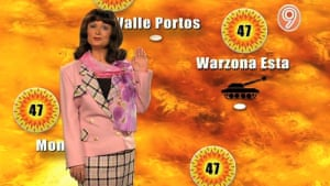 """Caroline Aherne as Poula Fisch in The Fast Show: """"Scorchio!"""""""