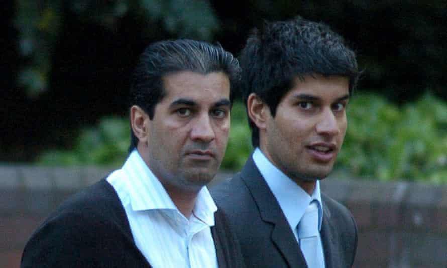 Ranjit Singh Boparan (left) with his son Antonio Singh Boparan in 2008.