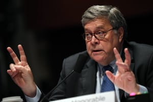 Barr testifies before the House judiciary committee earlier this week.