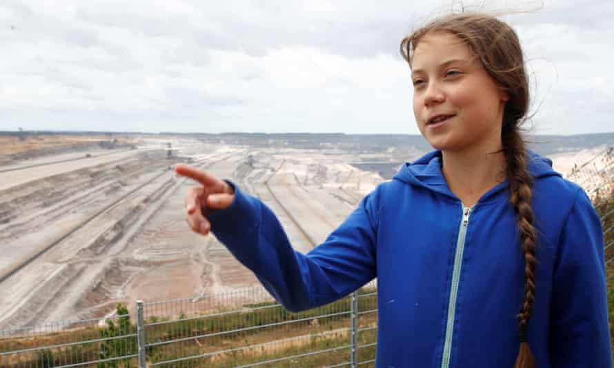 The climate-change activist Greta Thunberg: children's book publishers believe she is responsible for the huge increase in the number of young people reading about environmental issues