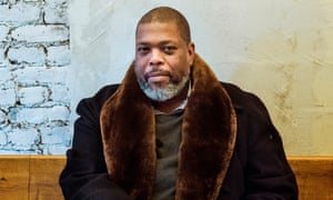"""1/19/18 Hilton Als, Pulitzer Prize winner, theatre critic for The New Yorker, and author of """"White Girls,"""" at Ciccio in downtown Manhattan. Photograph by Ali Smith"""