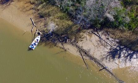 Shipwreck of a slave ship found in Alabama (not the Clotilda).