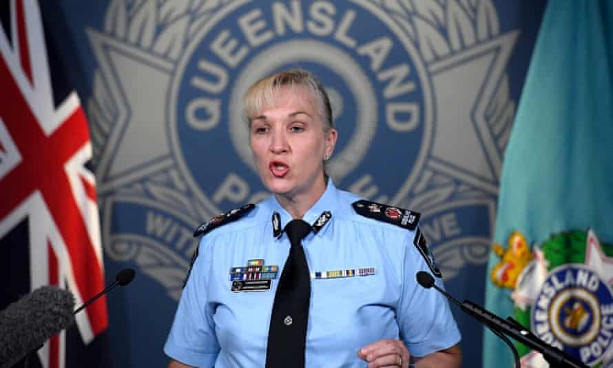 Queensland police commissioner Katarina Carroll