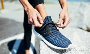 Adidas's Parley shoes, made from upcycled ocean plastic