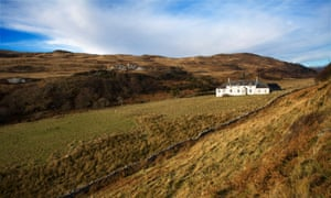 Barnhill on the island of Jura, the house where George Orwell wrote 1984.