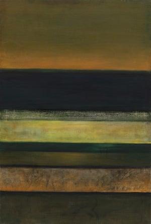 Horizon #3, 1963-65 by Hedda Sterne.