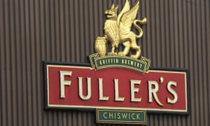 The Fuller's brewery in Chiswick, west London.