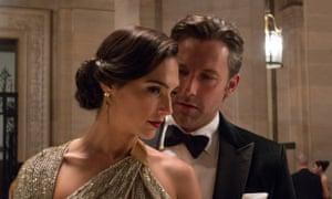 Gal Gadot and Ben Affleck in Batman v Superman: Dawn of Justice.