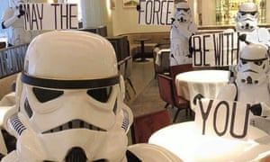 The most fun anyone has ever had in the restaurant at Claridge's? Star Wars day.