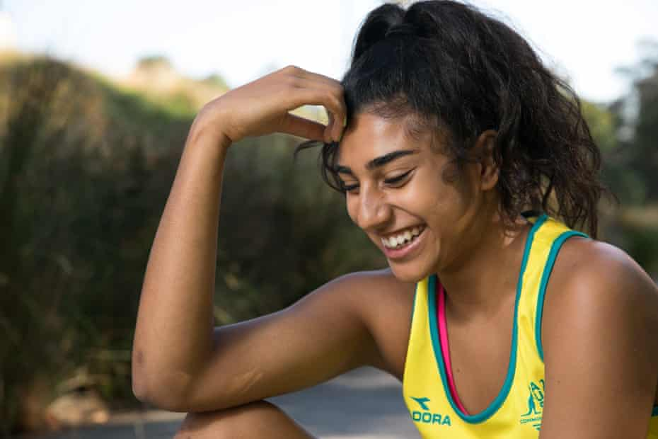 Kailyn Joseph, a para athlete who competed in the Commonwealth Games in long jump.