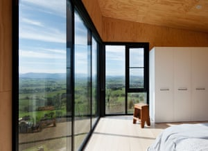 Room in bushfire resistant house designed by architect Clare Cousins and her team.