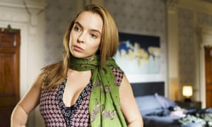 Jodie Comer as Villanelle in the Bafta-nominated series Killing Eve.