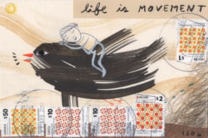 'Life is movement' by Isol from Argentina